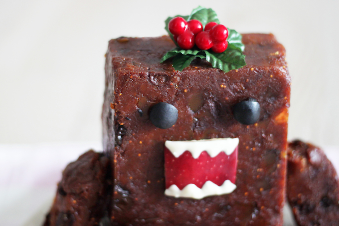 Domo-kun Christmas Pudding