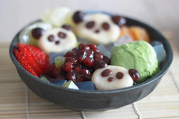 Panda Shiratama Anmitsu