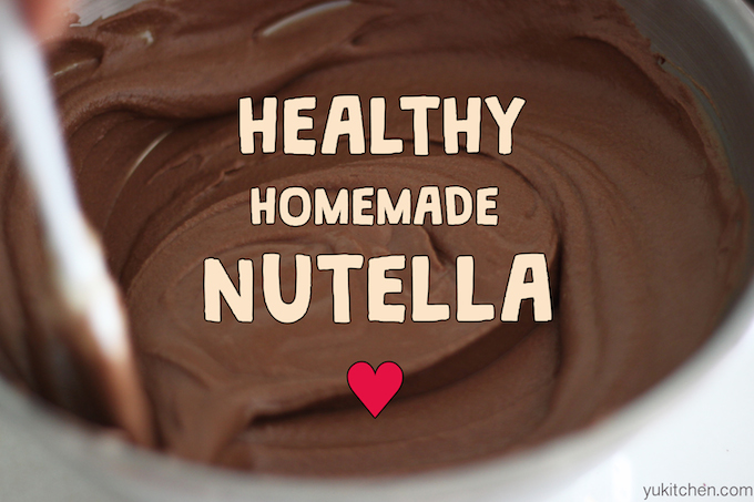 Healthy Homemade Nutella