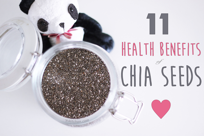 11 health benefits of Chia Seeds!