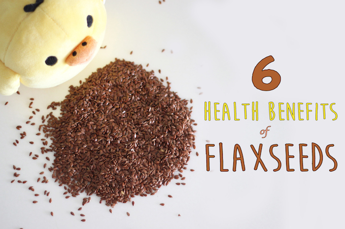 6 health benefits of flaxseeds!